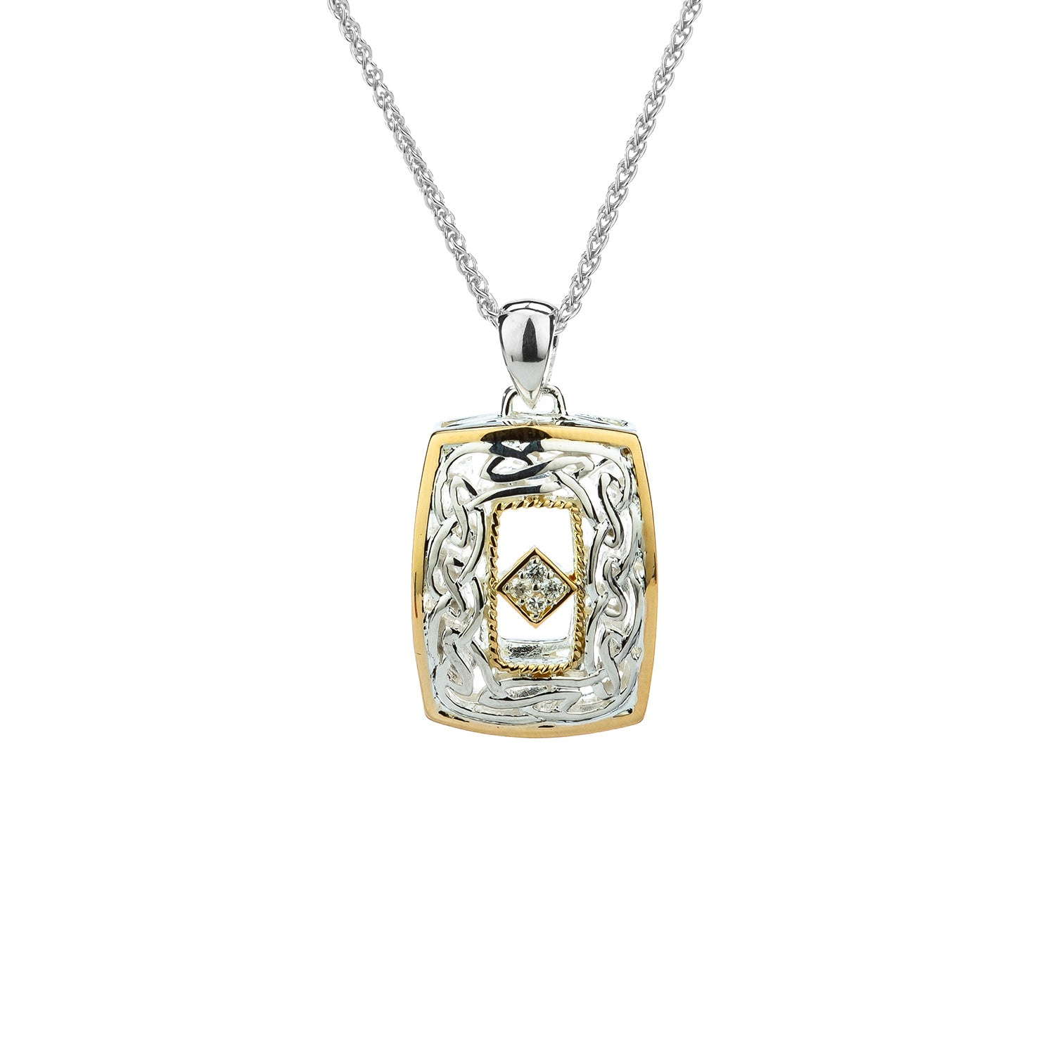 Pendant 10k Window to the Soul Diamond (TW 0.06ct) Pendant from welch and company jewelers near syracuse ny
