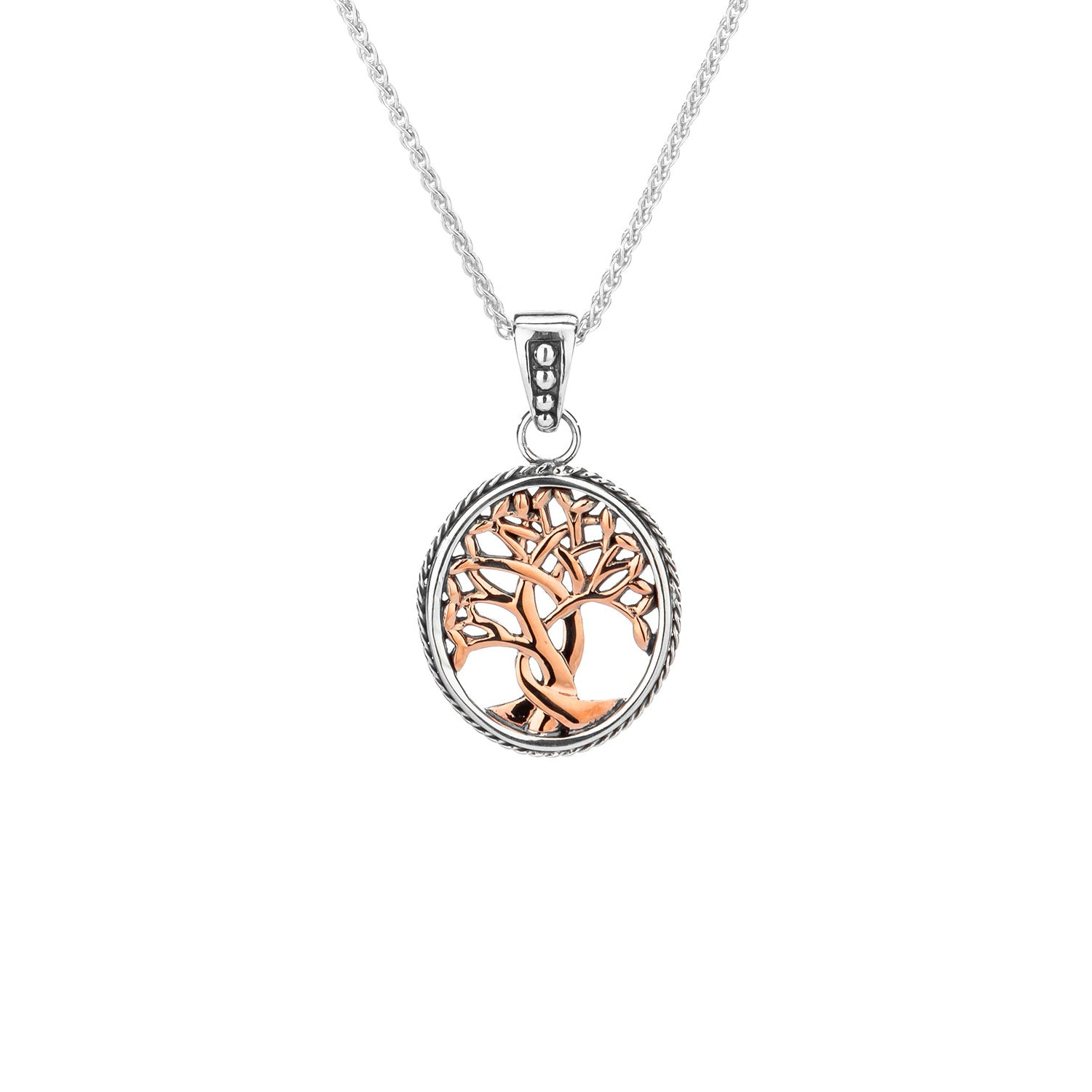 Pendant 10k Rose Tree of Life Pendant Small from welch and company jewelers near syracuse ny