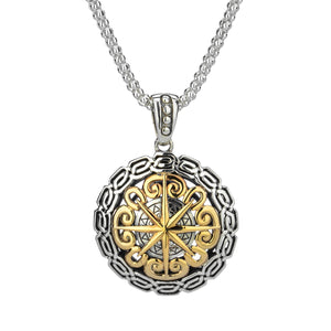 Pendant 10k Compass Eternity Pendant from welch and company jewelers near syracuse ny