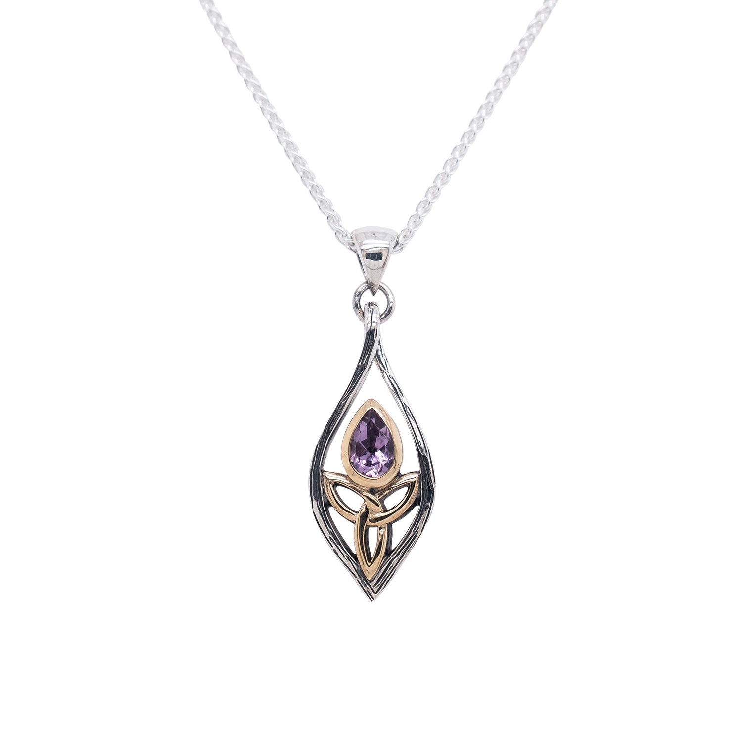 Pendant 10k Angel Amethyst Pendant Small from welch and company jewelers near syracuse ny