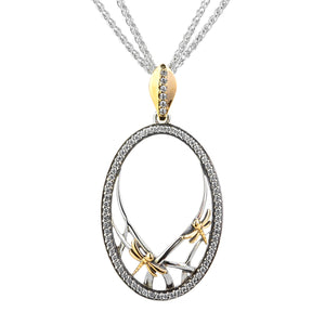Pendant 10k CZ Dragonfly Gateway Pendant from welch and company jewelers near syracuse ny
