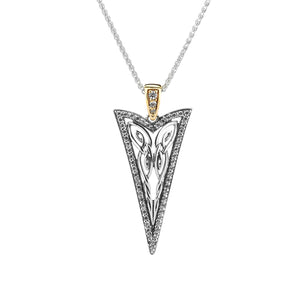 Pendant 10k CZ Butterfly Gateway Small Pendant from welch and company jewelers near syracuse ny