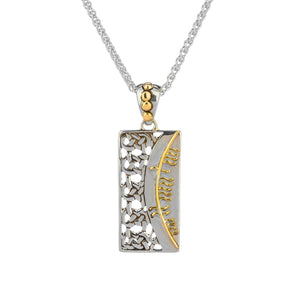 Pendant 18k Ogham Pendant Sonas = Happiness from welch and company jewelers near syracuse ny