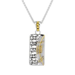 Pendant 18k Ogham Pendant Gra = Love from welch and company jewelers near syracuse ny