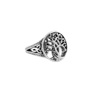 Ring Bands Tree of Life Ring (Tapered) from welch and company jewelers near syracuse ny