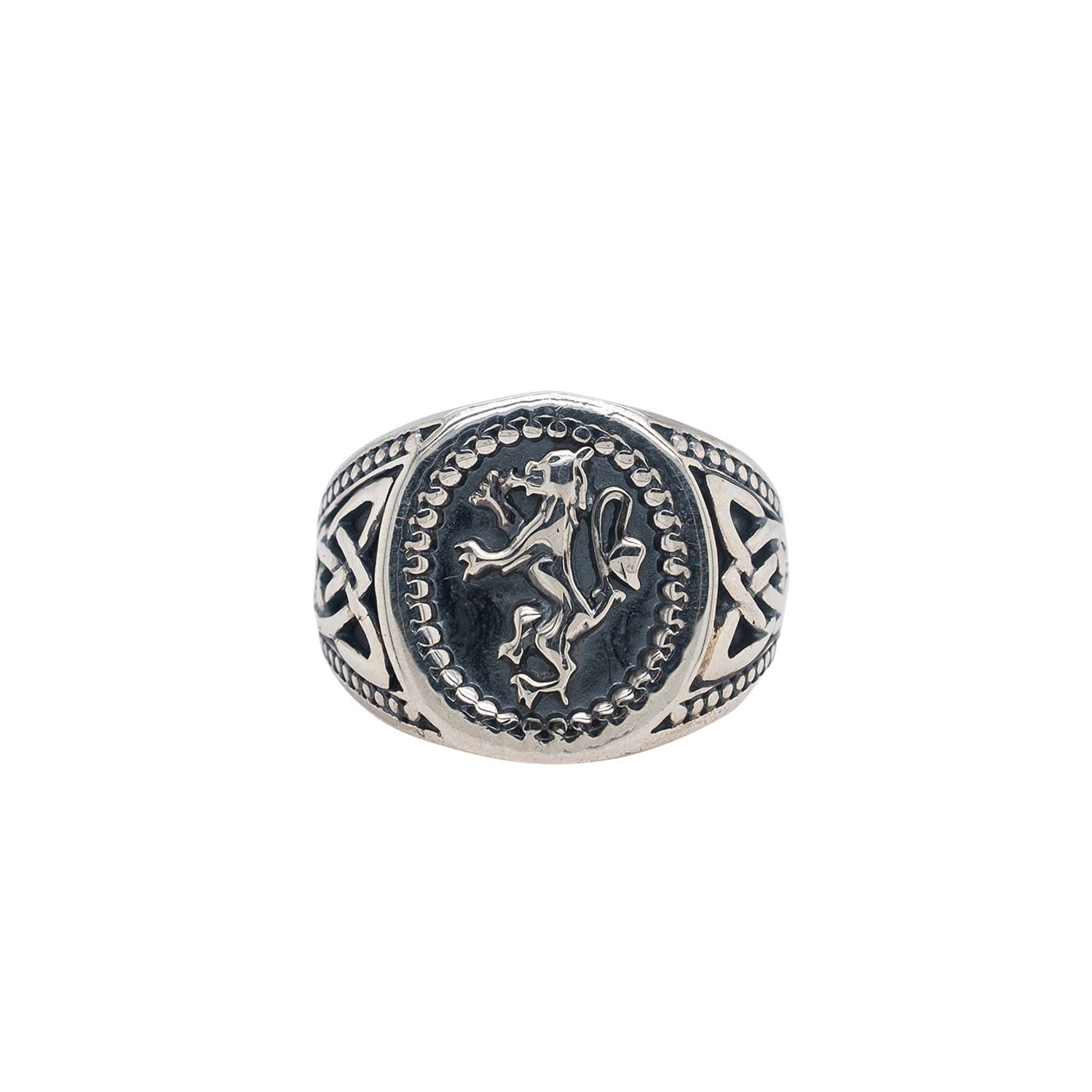 Ring Bands Lion Rampant Large Ring (Tapered) from welch and company jewelers near syracuse ny