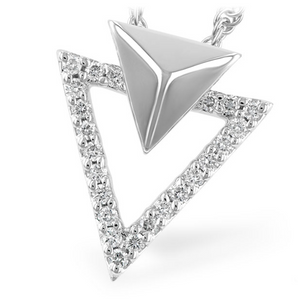 14KWG Diamond Fashion Pendant