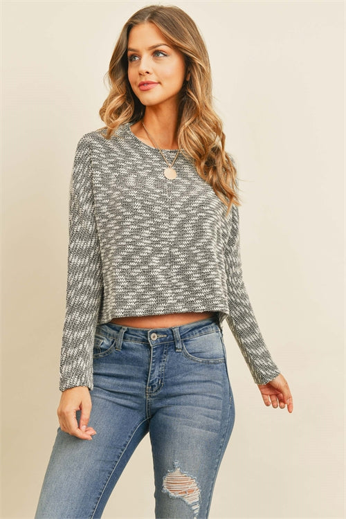 Black Ivory Cropped Top