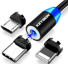 Load image into Gallery viewer, LED Magnetic USB Fast Charging Cable - Swell Tech