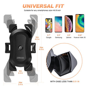 Universal 360 Degree Bike Phone Holder Bracket - Swell Tech