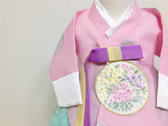 Princess Hanbok (Pink/Light Teal)