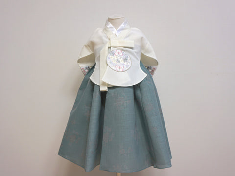Modern Princess Hanbok (Mint)