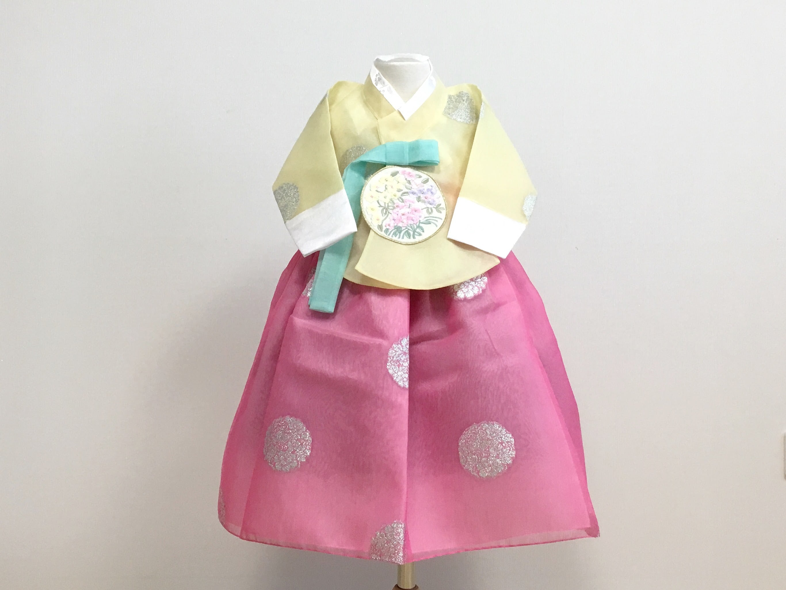Princess Hanbok (Yellow/Pink)