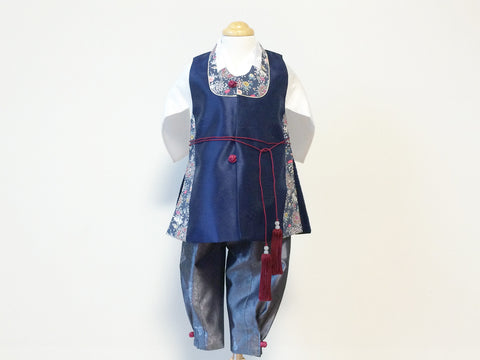 NAVY LIBERTY BOY'S Dohl HANBOK