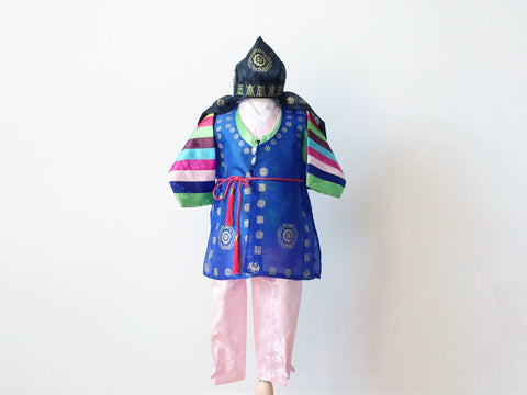 TRADITIONAL BOY'S HANBOK 6-piece set