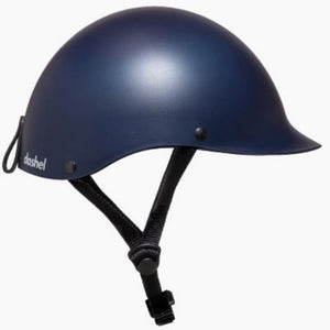 """Dashel helmet, light, elegant, recyclable, colour navy blue, small, medium, large size available, Barnes Bikes"""