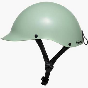 """Dashel helmet, light, elegant, recyclable, colour sage green, small, medium, large size available, Barnes Bikes"""