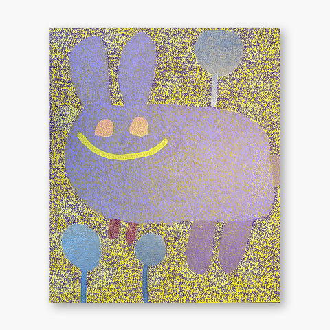 Artsuite - King Godwin - Artist - The rabbit is having a good day because the spring has come
