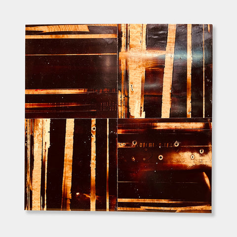 Artsuite - Thomas Sayre - Untitled - Original artwork by Thomas Sayre.  Sayre designs and builds public art projects and private commissions all over the world. His current work includes large paintings made with tar, smoke, gunshots, welding material, earth, and fire.