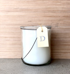 Twig Hand Poured Candle - Driftwood - D