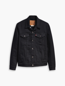 CJH x Levi´s The Trucker Boys Jacket, Dark Horse - Schwarz
