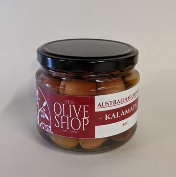 Olive Shop Olives - KALAMATA - 180g Jar