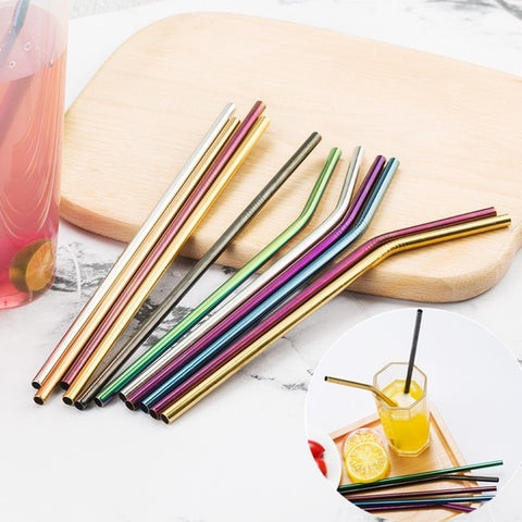 Set of Metal Straws