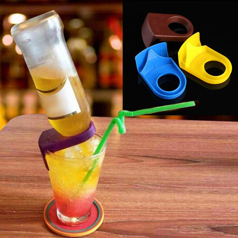 Bottle cocktail holder
