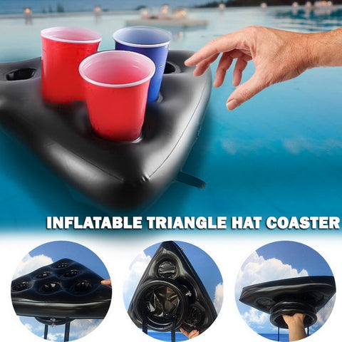 6 Hole Inflatable Drink Holder