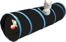 Load image into Gallery viewer, Cosy Life Cat Play Tunnel Collapsible with Integrated Toy