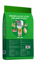 Load image into Gallery viewer, Cosy Life Premium Eco Cat Litter - Pine Wood Pellets - Natural Pine Scent - 30L