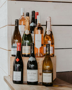 French Wine Lovers Case of 12 Bottles