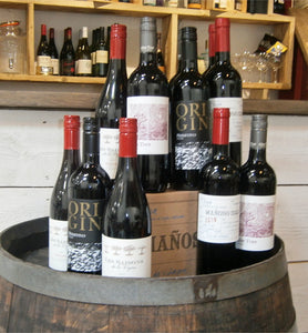 Red Wine Selection Case : 12 Bottles