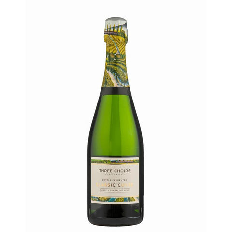 Three Choirs Classic Cuvee Brut English Sparkling Wine NV