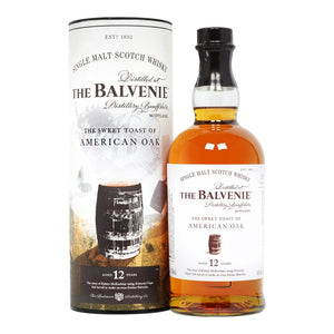 The Balvenie : Sweet Toast of Amercian Oak Single Malt Scotch Whiskey