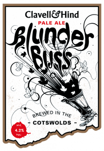 Clavell & Hind Blunderbuss Pale Ale 500ml bottle x 12