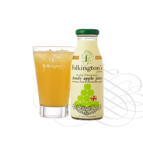 Folkingtons Artisans Juices : Cloudy Apple Juice 250ml bottles x 12