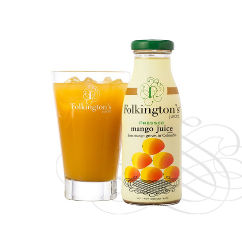 Folkingtons Artisans Juices : Pressed Mango  250ml bottles x 12
