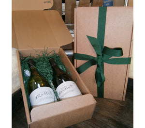 2 Bottle Kraft Gift Box : Add your choice of wines