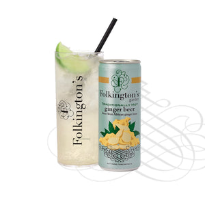 Folkingtons Ginger Beer 250ml can x 12