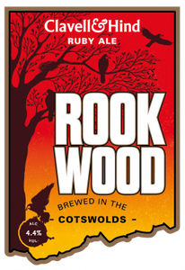 Clavell & Hind Rook Wood Ruby Ale 500ml bottle x 12