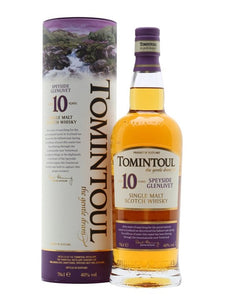 Tomintoul Single Malt Scotch Whiskey Aged 10 years