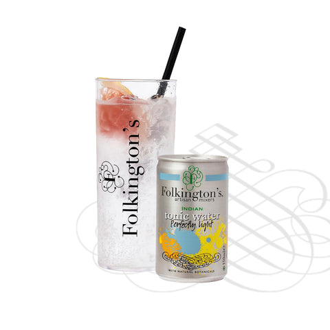 Folkingtons Artisans Mixers : Indian Tonic (Perfectly Light) 150ml can x 24