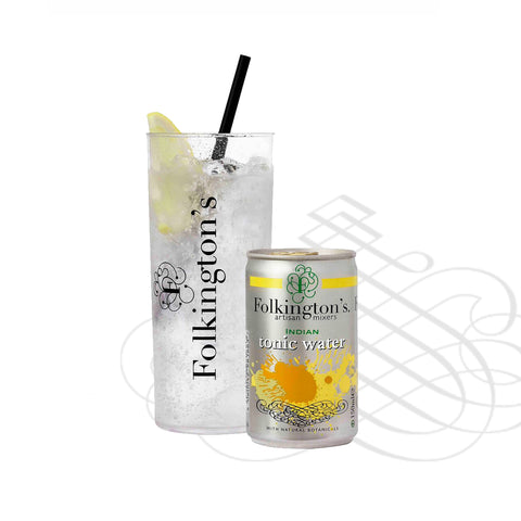 Folkingtons Artisans Mixers : Indian Tonic 150ml can x 24