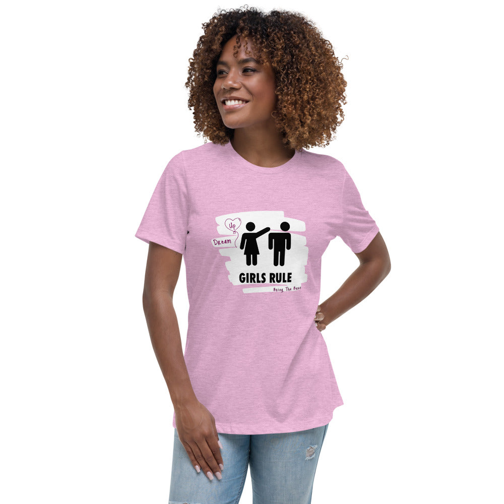 "B.T.B Girls Rule ""Dream Up"" Women's Relaxed Tee"