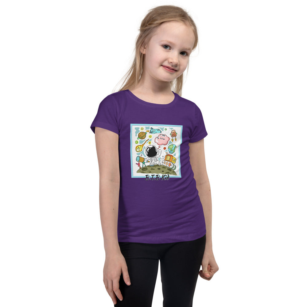 "B.T.B ""B.T.B Kid"" Girl's Slim Fit Tee"