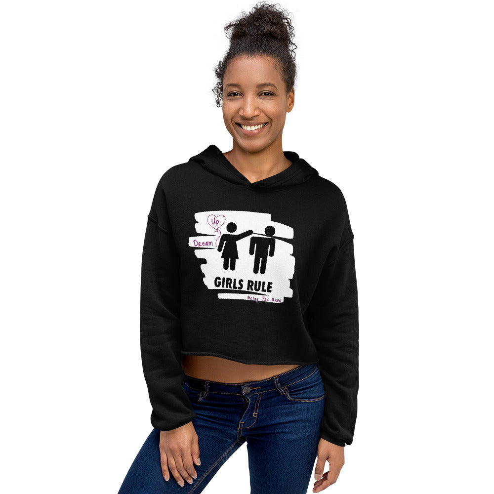 "B.T.B Girls Rule ""Dream Up"" Crop Hoodie"