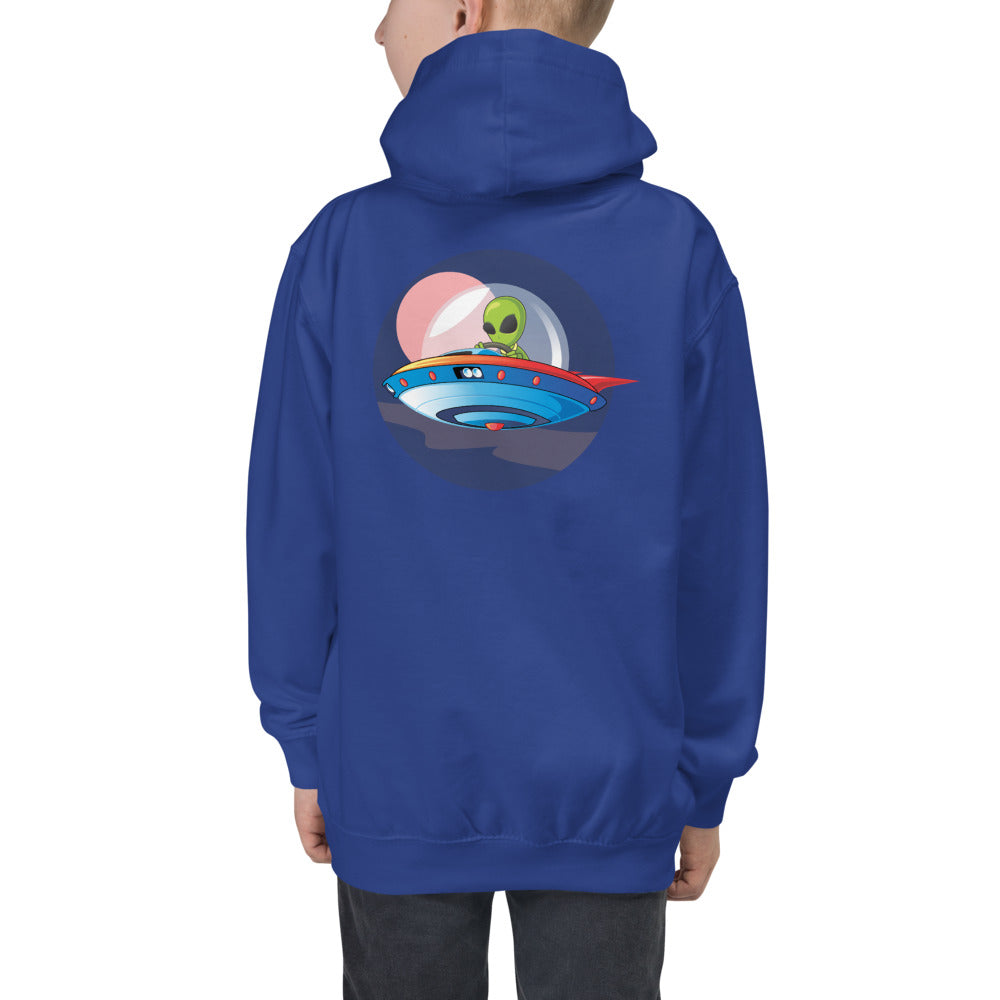 "B.T.B ""Alien On Board"" Kids Hoodie"