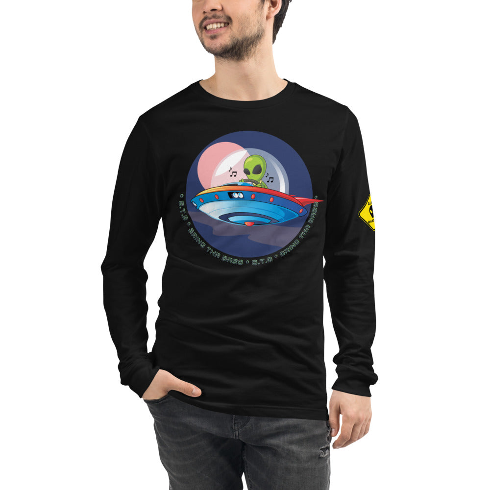 B.T.B Alien Spaceship Long Sleeve Tee