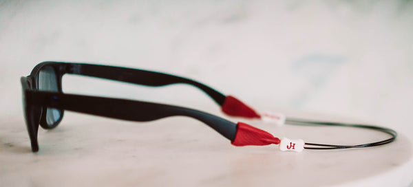 Adjustable Eyewear Cable - Crimson Red